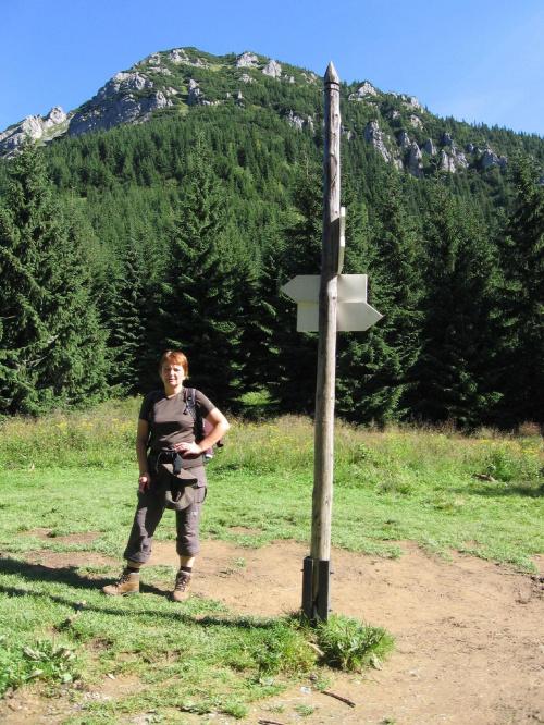 Na Przełęczy Iwaniackiej z Kominairzem w tle. #Góry #Tatry #StarorobociańskiWierch