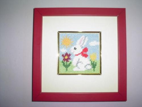 """Obrazek do dzieciecego pokoju-""""Kroliczek"""" #dziecko #miniaturki #obrazki #pokoj #zabawki"""