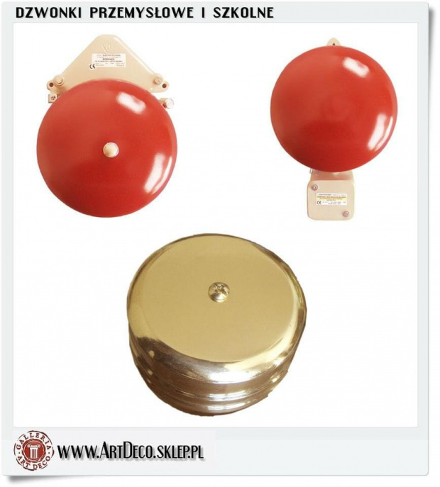 Dzwonki domowe elektryczne Hand_made R�kodzie�o