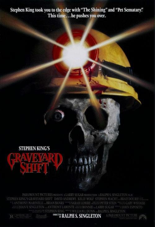 Cmentarna szychta / Graveyard Shift (1990) PL.DVDrip.Xvid / Lektor PL