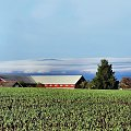 #Hamar #Norwegia #zielen #chmury #poranek