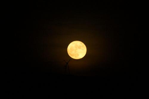 #niebo #księżyc