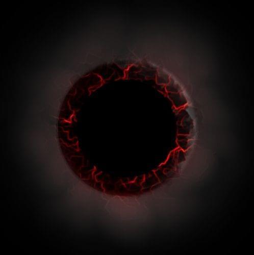 Grafika zrobiona w Gimpie #ŻarzącyOkrąg #żar #okrąg #gimp #PiekielnyOkrąg