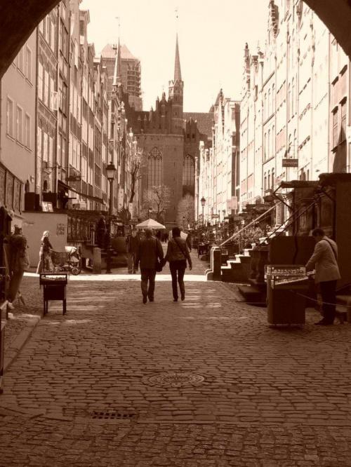 #Gdańsk #sepia