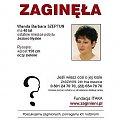 Wanda Szeptun - Jezioro Nyskie - Głębinów, Błękitna Zatoka, woj. opolskie. PLAKAT z ITAKA. Prosimy porozwieszaj w swojej okolicy. DZIĘKUJEMY! http://pomoc-rodzinom.blog.onet.pl #AkcjaPlakat #apel #BłękitnaZatoka #Głębinów #JezioroNyskie
