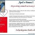 ... #Apel #ChoreDzieci #darowizna #schorzenie #OpiekaRehabilitacyjna #Fiedziuszko #fundacja #PomocCharytatywna #PomocDzieciom #PomocnaDłoń #rehabilitacja #sponsor #sponsoring #Nysy #Opolskie #SzpikKostny #choroba #rak #nowotwór #pomoc #ApelOPomoc