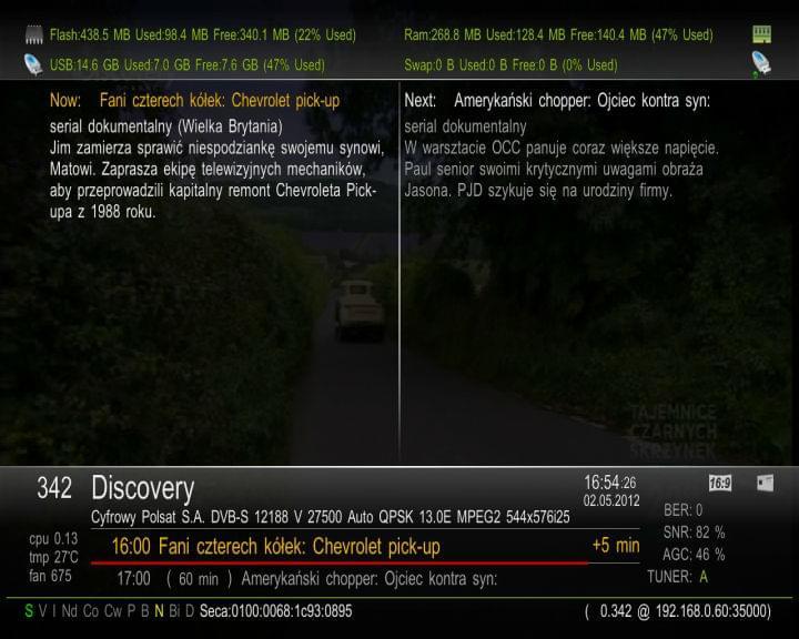 VU+Ultimo Backup PLI Beta Gotowiec by Grubasek