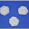 Róże z materiału #biżuteria #bransoleta #drewna #kwiaty #metalu #naszyjnik #OzdobyZMateriału #rękodzieło #róże
