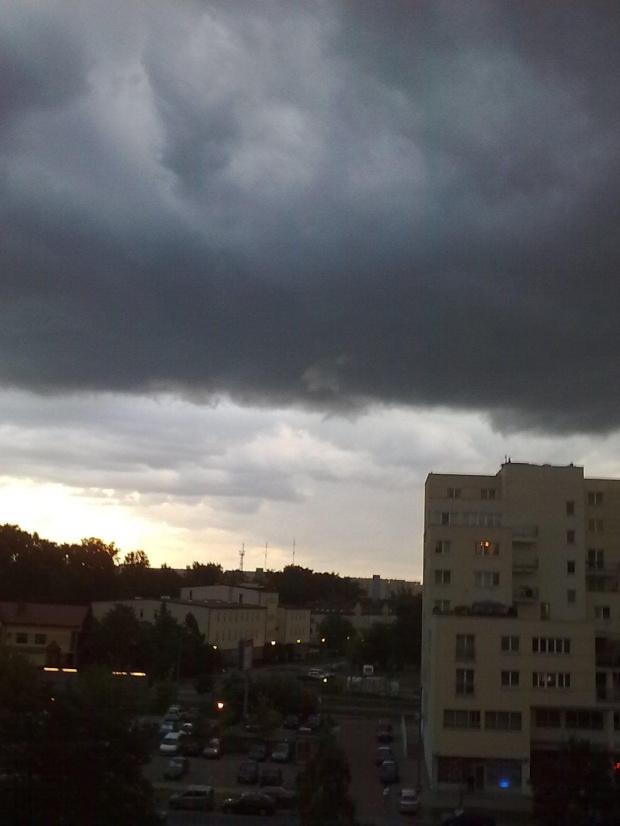 Przed burzą #burza #chmury #deszcz #ulewa