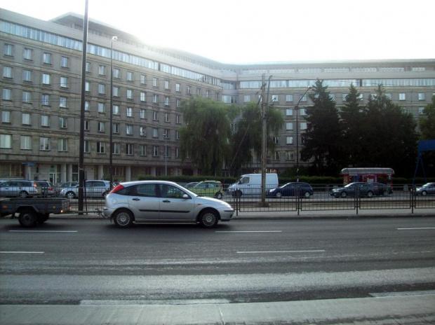 Warszawa- al. Niepodległości (GUS) #budynek #warszawa #widok