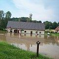 05.07.2012r.Olszyna Średnia koło Lubania zalana... #OlszynaŚrednia #powódź