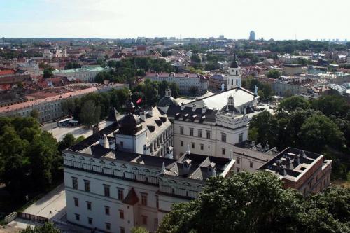 U podnóża Góry Zamkowej tuż za Katedrą, Pałac Wielkich Książąt Litewskich #Wilno