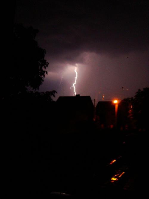 #niebo #burza #noc #piorun #grzmot