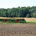 |20.08.09| SA106-014 jako pociąg nr 1128 do Chełmży. #osobowy #pkp #Dąbrowa_Chełmińska #Nowy_Dwór #Ostromecko #Bydgoszcz #Chełmża #linia