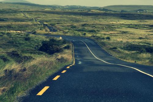 Droga do nikąd #groga #plener #widok