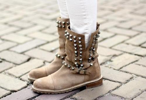 buty biker boots