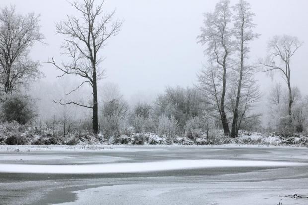 mrozem malowane #krajobraz #lód #mróz #śnieg #widok #zima