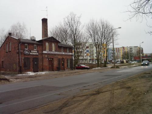 Szosa Chełmińska/Wybickiego w kierunku zachodnim