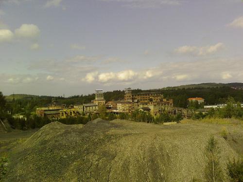 #kopalnia #hałda