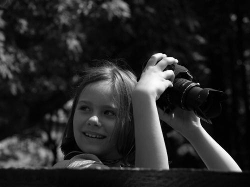 Zdjęcie z warsztatów fotograficznych dla dzieci :)