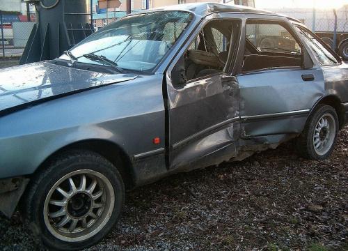 - Bolało... #auto #samochód #wrak