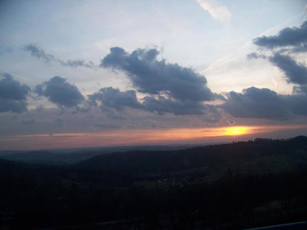 Zachód słońca #KazimierzDolny #zachód #słońca
