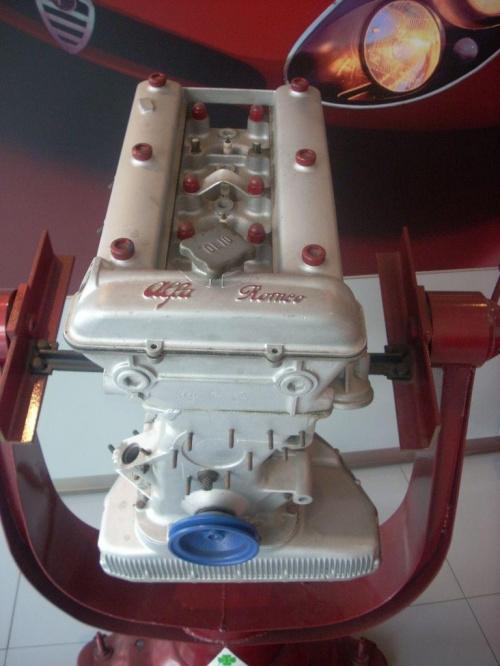 Silnik Alfa Romeo z modelu Giulia TI 1600 #SattaPuliga #AlfaRomeo #GiuliaTI #AR00514