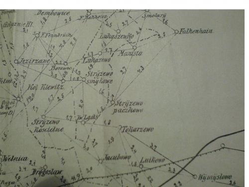 Mapy okolic Gniezna