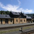 Dworzec kolejki parowej w Oybin #oybin #niemcy #ViaSacra #kurort