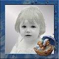 """Amelka, portret ręcznie """"malowany"""" #Amelka #portret #dziecko #MojePrace"""