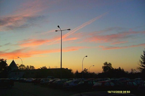Za chwilę wschód słońca.