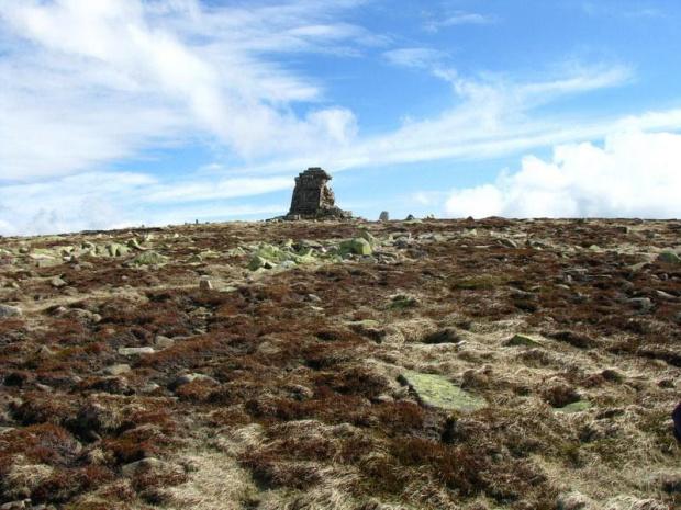Pomnik Wilhelma I na Wielkim Szyszaku_Maj 2010 #pomnik #WielkiSzyszak #góry #Karkonosze #szlaki #SzklarskaPoręba
