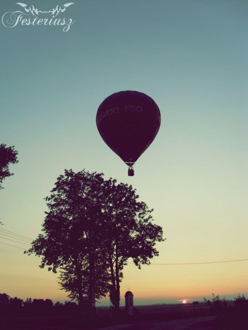 Balon nad Grodzicznem #balon #grodziczno #festeriusz