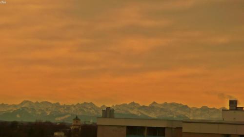A w Alpach lezy snieg...:)