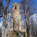 Wieża strażnicza w parku w Bukowcu z XIX w. k. Jeleniej Góry odrestaurowana staraniem Fundacji Doliny Pałaców i Ogrodów Kotliny Jeleniogórskiej #Bukowiec #JeleniaGóra