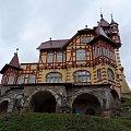 Zameczek Hradek - Burgsberg w Varnsdorfie w Czechach #Czechy #WieżaWidokowa