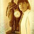 Czas #Czas #zegar #portret #przemijanie #photoshop