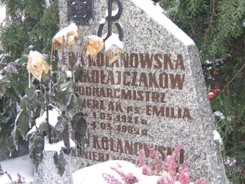 Ewa Kolankowska d. Mikolajczak A.K. ps. Emilia podharcistrz Gniezno cm. św.Piotra i Pawła
