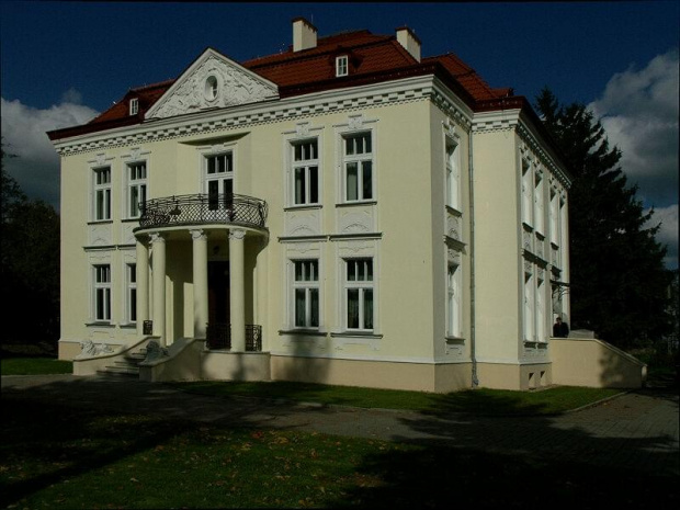 Dworek we Wsoli, w którym mieści się Muzeum Gombrowicza. #dworek #muzeum #architektura #Wsola #Radom #Gombrowicz