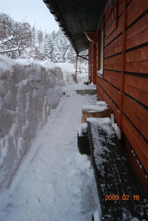Zima i zasypany moj drugi dom :D