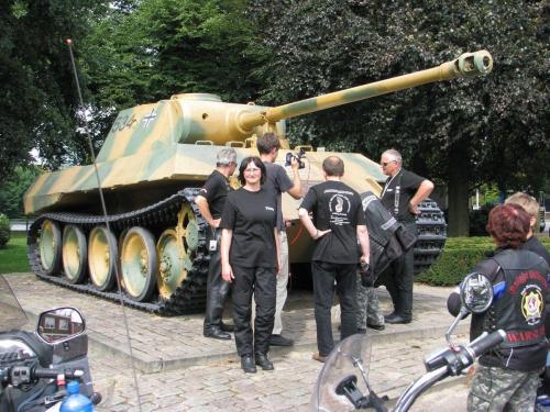 Pantera w Bredzie #RajdMaczka #GenerałMaczek