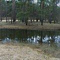 #jeziorko #panorama #drzewa #niebo #odbicie