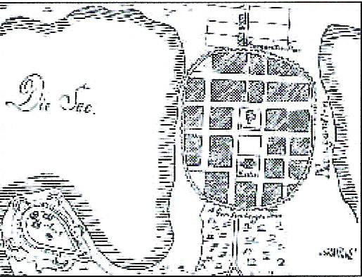 #Nowogard #PlanSredniowiecznegoMiasta
