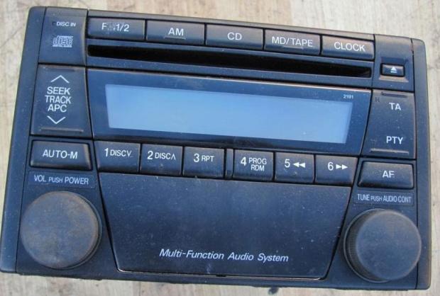 Oryginalne radio z Mazdy 323F 2001r - jak podpiąć się pod tor AM?