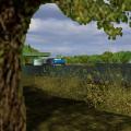 Pauza MAN'em F90 - zza drzewka :E #man #f90 #drzewko #pauza #stacja #euro #truck #simulator #ets