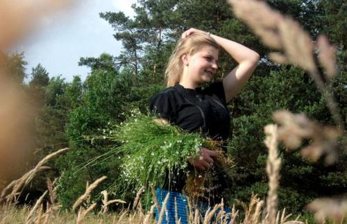 Modelka:Angelika LATO 2011